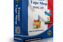France Vape Shop Database